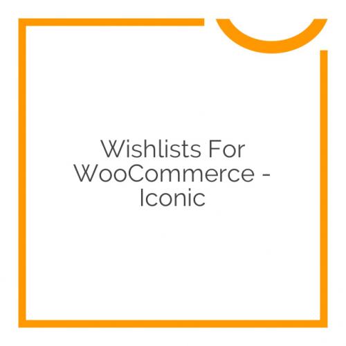 Wishlists for WooCommerce – Iconic 1.0.3