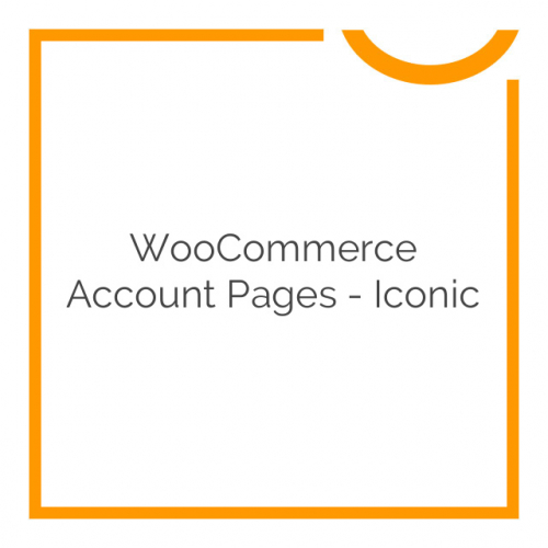 WooCommerce Account Pages – Iconic 1.0.6