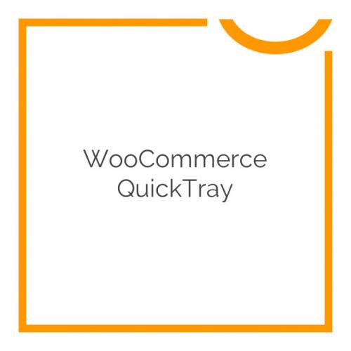 WooCommerce QuickTray 1.0.4
