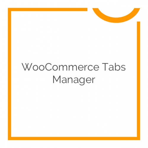 WooCommerce Tabs Manager 1.11.0