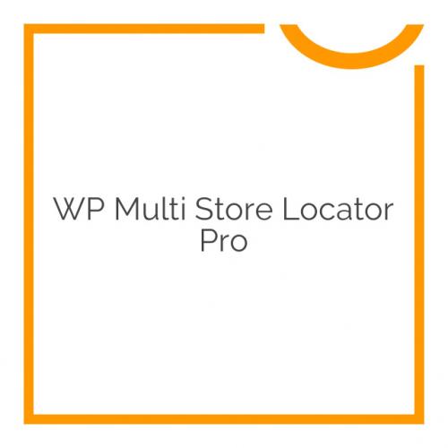 WP Multi Store Locator Pro 2.9
