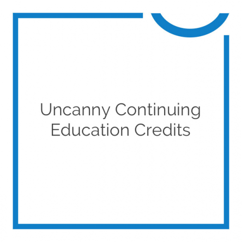 Uncanny Continuing Education Credits 3.0.2