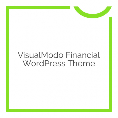 VisualModo Financial WordPress Theme 1.0.2