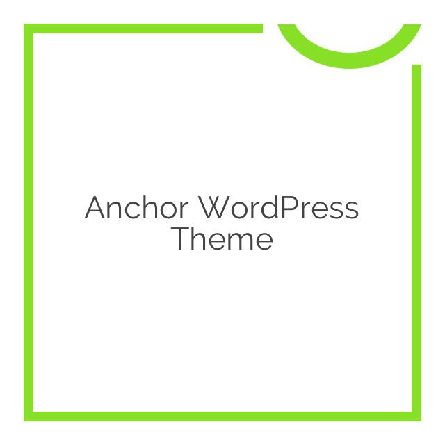 Anchor WordPress Theme 1.116