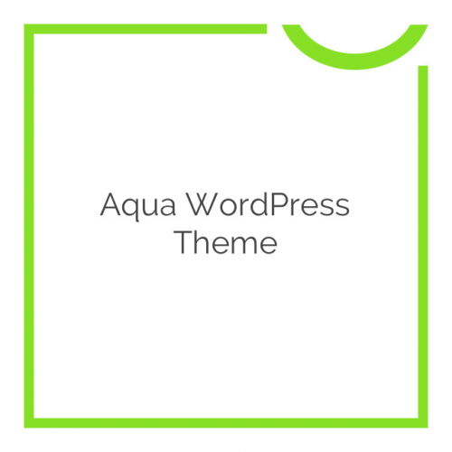 Aqua WordPress Theme 1.60