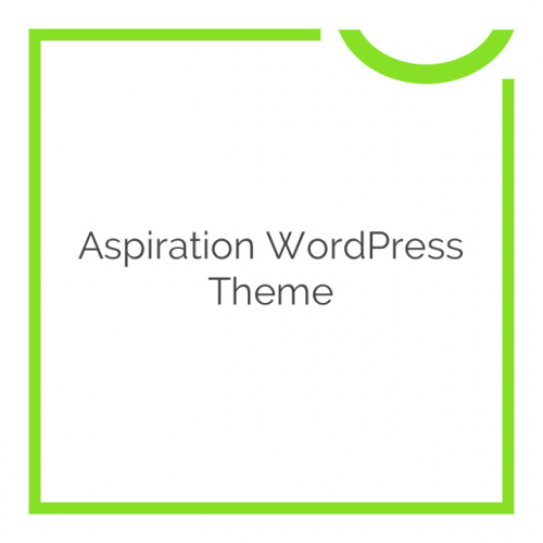 Aspiration WordPress Theme 1.28