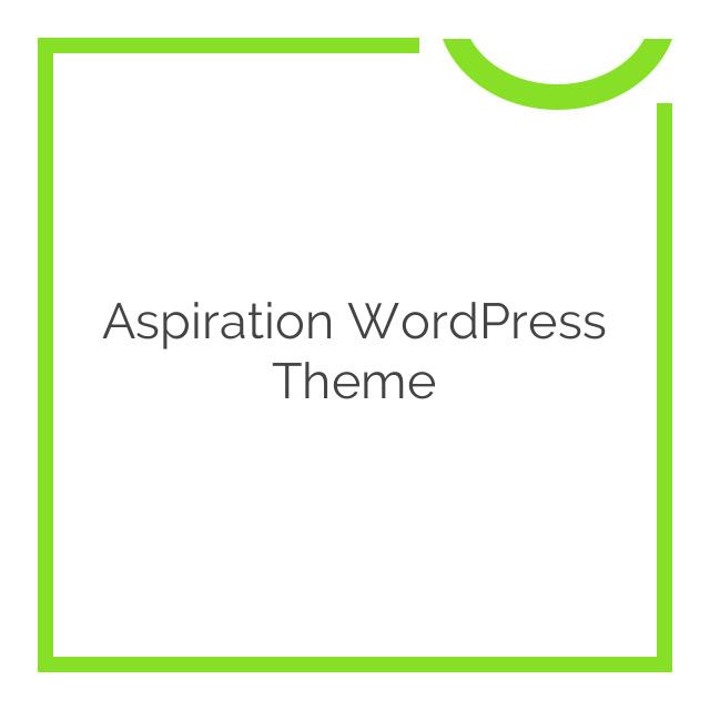 Aspiration WordPress Theme 1.28