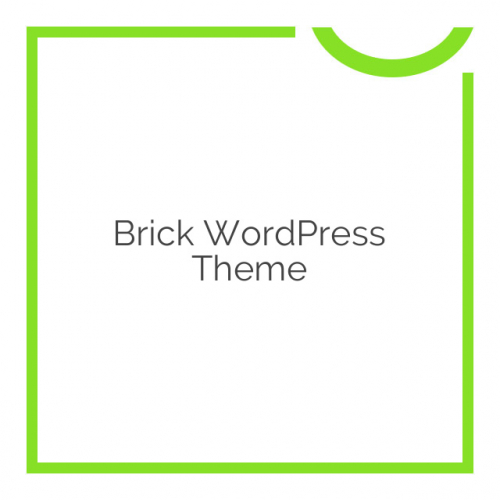 Brick WordPress Theme 1.55