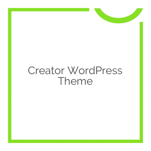 Creator WordPress Theme 1.35
