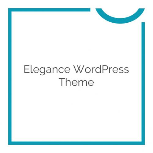 Elegance WordPress Theme 1.26