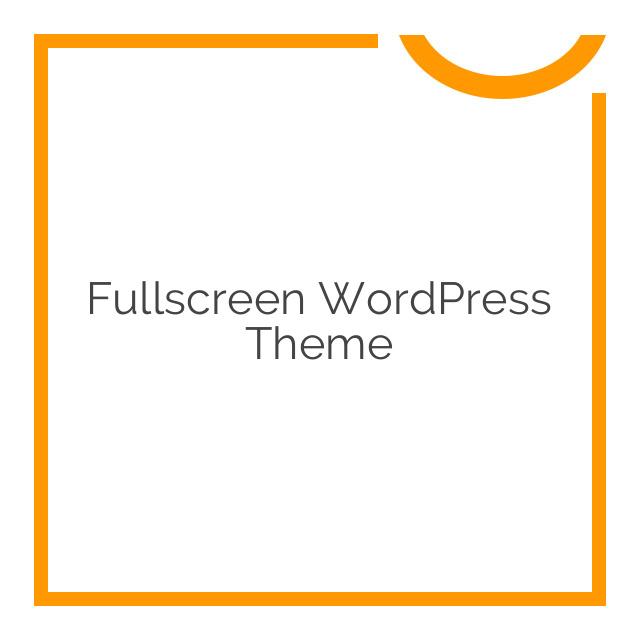 Fullscreen WordPress Theme v2.21