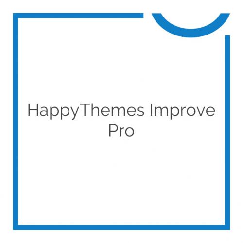 HappyThemes Improve Pro 1.4