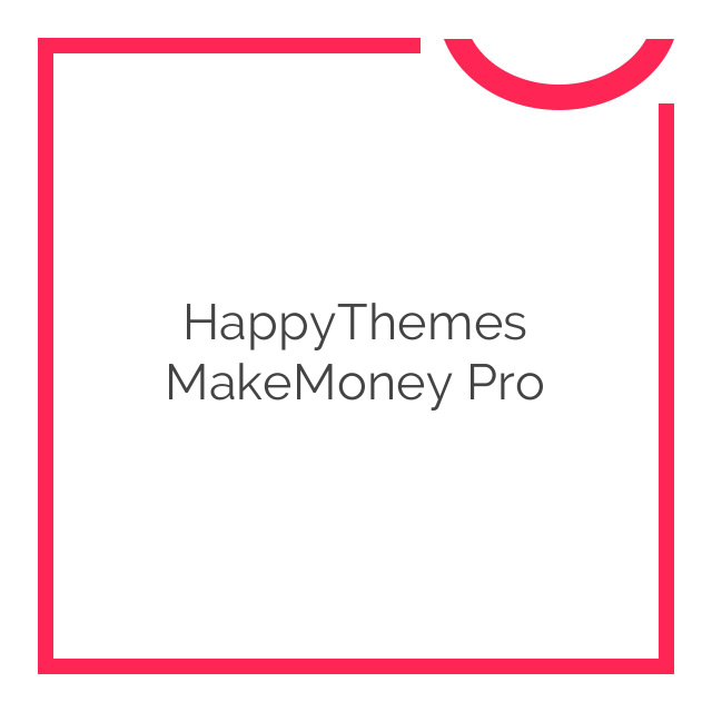 HappyThemes MakeMoney Pro 1.5