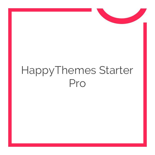 HappyThemes Starter Pro 1.7
