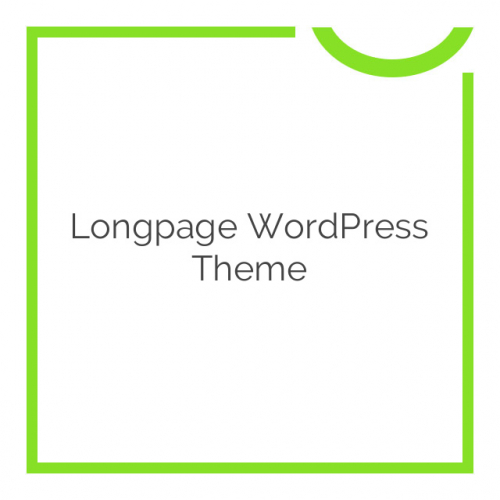 Longpage WordPress Theme 1.28