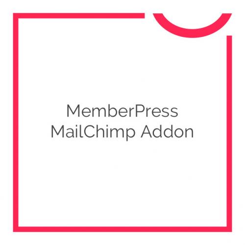 MemberPress MailChimp Addon 1.1.11