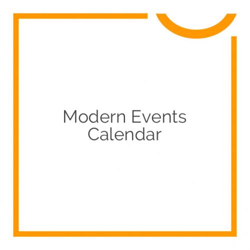 Modern Events Calendar 4.7.5