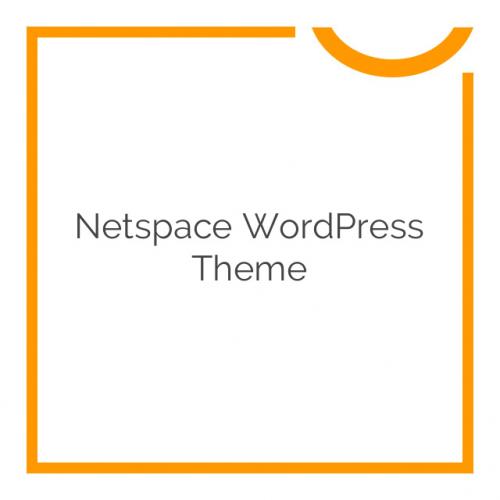Netspace WordPress Theme 1.27
