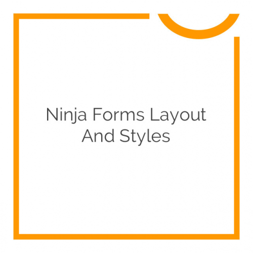 Ninja Forms Layout and Styles 3.0.27