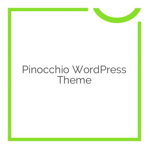 Pinocchio WordPress Theme v1.4