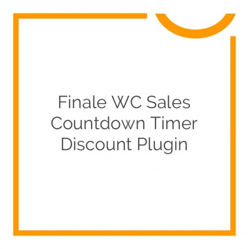 Finale WC Sales Countdown Timer Discount Plugin 2.16.1