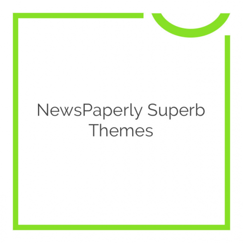 NewsPaperly Superb Themes 100.0