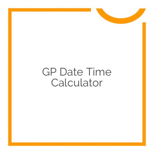 GP Date Time Calculator 1.0-beta-3.12