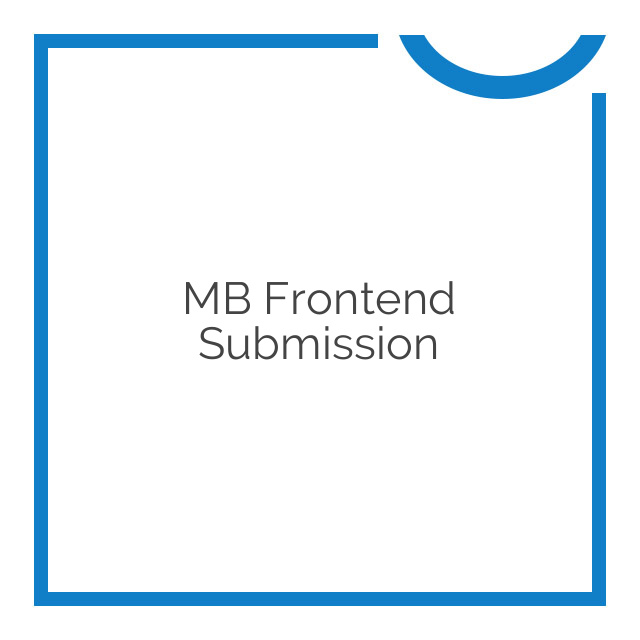 MB Frontend Submission 2.0.6