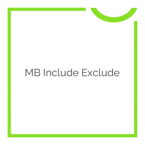 MB Include Exclude 1.0.10
