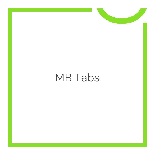 MB Tabs 1.1.5
