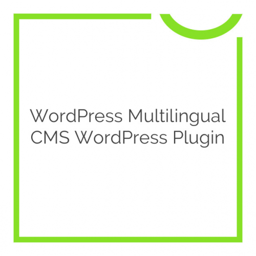 WordPress Multilingual CMS WordPress Plugin 4.3.6