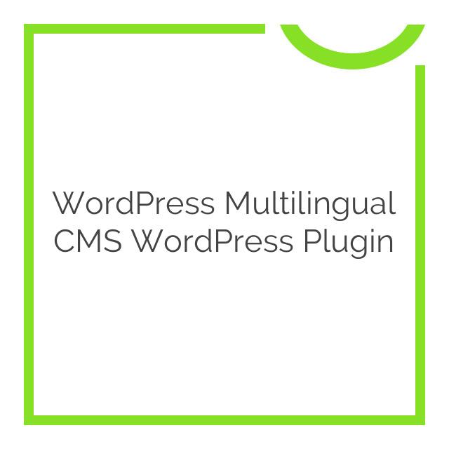 WordPress Multilingual CMS WordPress Plugin 4.3.6